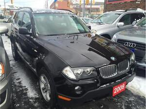 2008 BMW X3-CERTIFIED & E TESTED LOAN APPROVAL WITH $999 DOWN