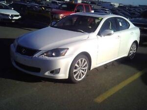 2010 Lexus IS 250 All Wheel Drive! w Leather, heated seats GPS