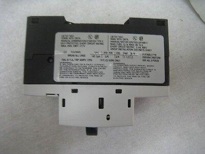 SIEMENS circuit breaker 3RV1011-1CA10 starter motor protector