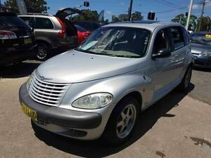2002 Chrysler PT Cruiser Limited Silver 5 Speed Manual Hatchback Greenacre Bankstown Area Preview