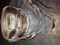 MENS SIZE 10 CSA APPROVED ROYER SILVERCLEAR WORKBOOT