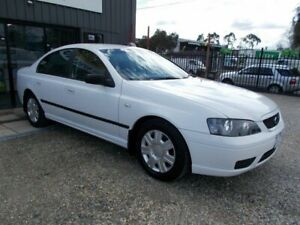 2006 Ford Falcon BF XT White 4 Speed Sports Automatic Sedan Bayswater North Maroondah Area Preview
