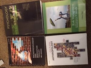Commerce, Psychology and Antrhopology Textbooks