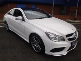 64 MERCEDES-BENZ E350 CDI COUPE AMG SPORT 7G DIESEL *LOADED*