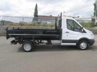 Ford Transit 350 L2 2.2 Tdci 100Ps Tipper DIESEL MANUAL WHITE (2014)