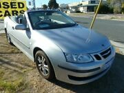 2007 Saab 9-3 MY07 Linear Silver 5 Speed Auto Sensonic Convertible Wangara Wanneroo Area Preview