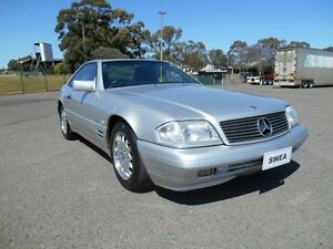 1996 Mercedes-Benz SL280 R129 Silver 4 Speed Automatic Convertible Condell Park Bankstown Area Preview