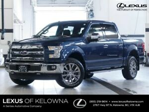 2015 Ford F-150 Lariat 4x4 SuperCrew
