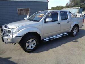 2006 Nissan Navara D40 ST-X (4x4) Silver 6 Speed Manual Dual Cab Pick-up Sandgate Newcastle Area Preview