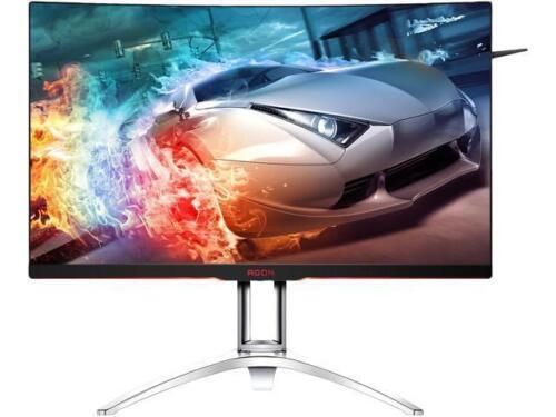 "AOC Agon AG322QC4 31.5"" Curved Framless Gaming Monitor, QHD"