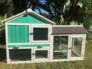Rabbit guinea pig hutch FLORIDA