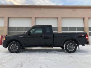 2008 Ford Ranger Sport 4X4 V6 = 160K = LOADED - STICK SHIFT