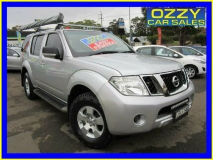 2012 Nissan Pathfinder R51 Series 4 ST (4x4) Silver 6 Speed Manual Wagon Penrith Penrith Area Preview