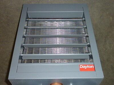New Dayton Hydronic Unit Heater 18 H 450 Cfm 3duf7 24k Btu 115v
