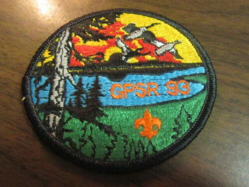 Goose Pond Scout Reservation 1993 Pocket Patch       c43