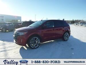 LOW KMS & BRILLIANT TECHNOLOGY! 2014 Ford Edge SPORT AWD