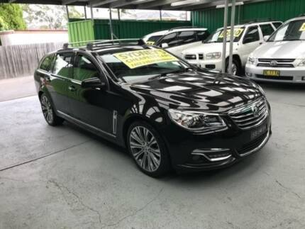 2014 Holden Calais VF V Black Sports Automatic Wagon Five Dock Canada Bay Area Preview