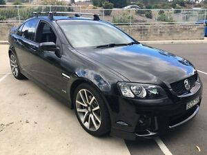 2011 Holden Commodore VE II MY12 SS-V Black 6 Speed Automatic Sedan Lisarow Gosford Area Preview