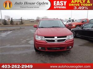 2010 Dodge Journey R/T AWD LEATHER 2DVD 90 DAYS NO PAYMENTS