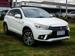 2018 Mitsubishi ASX XC MY19 LS 2WD White 6 Speed Constant Variable Wagon Wangara Wanneroo Area Preview