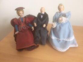 Dolls house figures