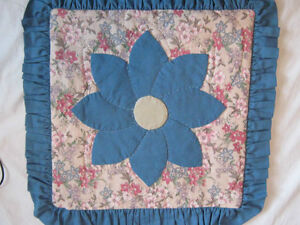 3 new hand-crafted quilted cushion covers London Ontario image 5