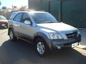 2006 Kia Sorento BL MY06 EX Silver 5 Speed Sports Automatic Wagon Hampstead Gardens Port Adelaide Area Preview