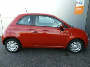 2013 Fiat 500 Series 1 Pop Dualogic Red 5 Speed Sports Automatic Single Clutch Hatchback Coburg North Moreland Area Preview