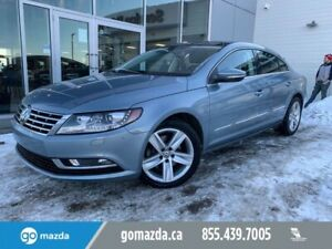 2013 Volkswagen CC SPORTLINE LEATHER SUNROOF BACK UP CAM REALLY