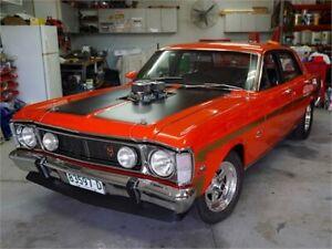 1970 Ford Fairmont XW Brambles Red 3 Speed Automatic Sedan Auburn Auburn Area Preview