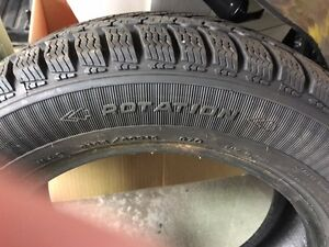 One ( 1 ), GoodYear Ultra Grip Ice Snow Tire, NO RIM . London Ontario image 4