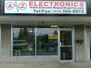 A to Z Electronics, We're the Console Repair Experts