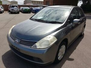 2007 Nissan Tiida C11 ST Grey 4 Speed Automatic Sedan Georgetown Newcastle Area Preview
