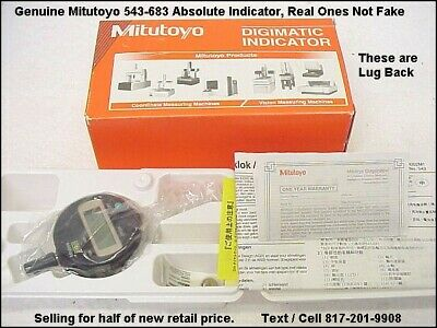 New Mitutoyo543-683digimaticindicatorlugback Inchmetric .0005.01mmres