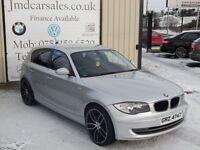 BMW 1 SERIES 120D SE 2.0 175BHP 5DR (FINANCE & WARRANTY AVAILAB (silver) 2008