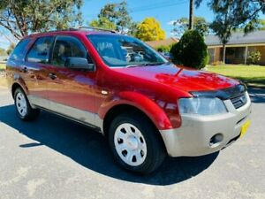 2005 Ford Territory SX TX Red 4 Speed Sports Automatic Wagon Camden Camden Area Preview