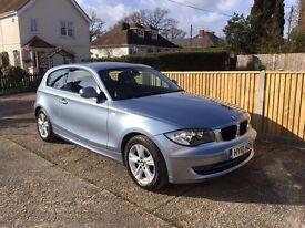 BMW 1 series 2.0 116d SE 3dr 2010 LOW MILEAGE AND EXCELLENT CONDITION