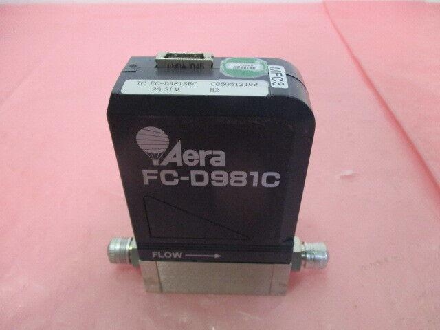 Aera FC-D981SBC Mass Flow Controller, MFC, H2, 20 SLM, 22-122051-00, 421352