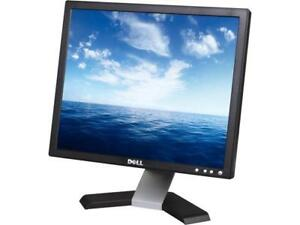 "2 Desktop LCD Monitors for sale 17"" to 19"" screen"