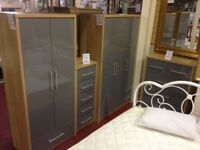 New Wardrobes from £119 to £1099, Over 30 to choose from.