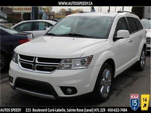 2010 DODGE JOURNEY R/T AWD NAVI/CAMERA/DVD/TOIT/ 7 PASSAGERS !!!