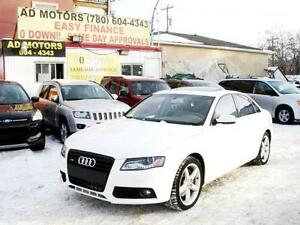 """SALE THIS WEEK""  2011 AUDI A4 TURBO AWD FULLY LOADED-FINANCING!"