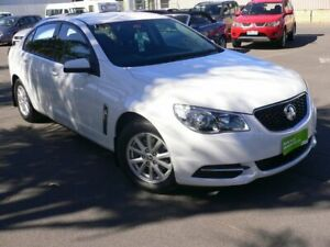 2017 Holden Commodore VF II MY17 Evoke Heron White 6 Speed Sports Automatic Sedan Melrose Park Mitcham Area Preview