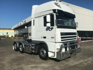 2014 DAF XF105 ,510 HP, 16 SPEED ZF, 46-160 REAR AXLES ON AIRLINER AIR SUSPENSION, ALLOY BULL BAR, D Milperra Bankstown Area Preview
