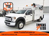 2019 Ford F-550 XLT 4x4, Service Truck + Crane + VMac DTM Edmonton Edmonton Area Preview
