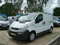 2005 VAUXHALL VIVARO 1.9 DI 2900 SWB Panel Van Twin Slide Doors + NO VAT