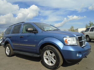 2007 DODGE DURANGO SLT-LEATHER-DVD-HDTV-4X4-8 PASSENGER-AMAZING