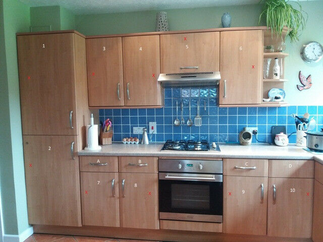 Kitchen doors for sale, due to kitchen refurbishment