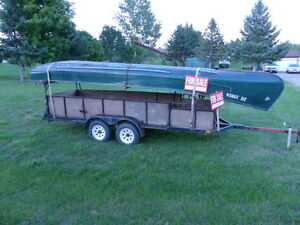 22.5 FEET FRIEGHTER CANOE FOR SALE; $800.00