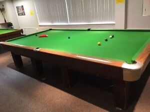Very good condition, used Slate Pool Table